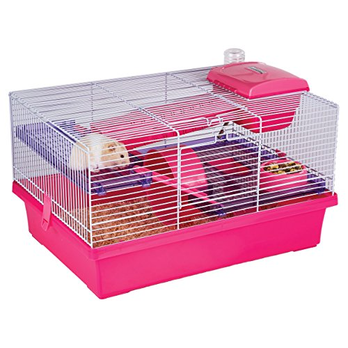 Rosewood Palissandro Pico Hamster Cage, Rosa