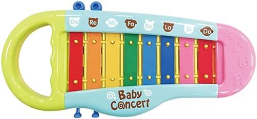 HXGL-Klopfen Sie am Klavier Kinder Octave Static Plastic Toy klopfte an das Musikinstrument Musik Spielzeug Geschenk (Größe   S)