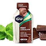 GU Energy Gel Mint Choccolate, 20mg Caffeina, box da 24 gel da 32g