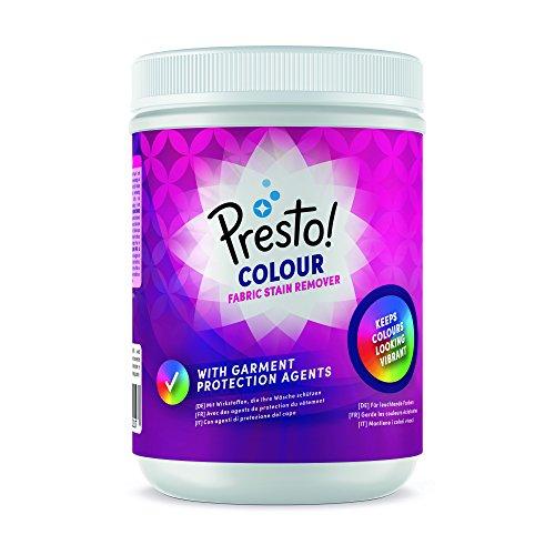 Amazon-Marke: Presto! Fleckenentferner-Pulver Color, 80 Waschgänge (2 x 1 kg)