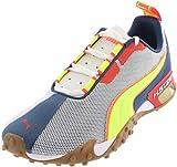 PUMA Zapatillas de correr para hombre H.ST.20 Crossfit, (Puma Blanco/Dark Denim/High Risk Rojo), 42 EU
