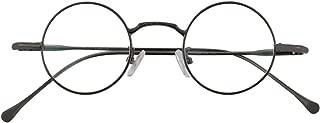 Retro Small Round Optical Eyeglasses Frame Rx Clear Lens
