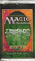 Magic The Gathering Card Game - Homelands Booster Pack - 8C