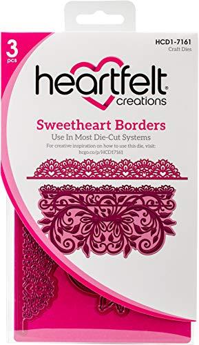 Heartfelt Creations Cut & Emboss Dies-Heartfelt Love-Sweetheart Borders