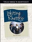 Writing & Rhetoric Book 10: Thesis Part I (Teacher's Edition)