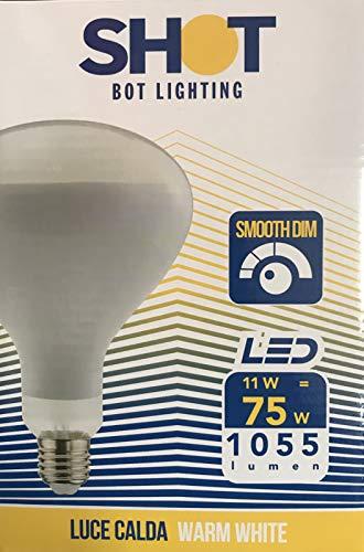 Bot Lighting Shot Lampadina LED Per Parentesi Flos E27 R125 1055lm 11W E27 WW DIMMERABILE 2700K