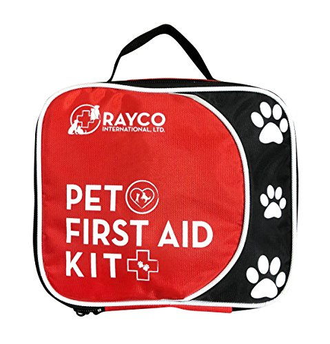 Rayco International Ltd Pet First Aid Disaster Kit w/LED Safety Collar