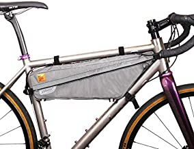 WOHO Xtouring Bikepacking Frame Bag L Iron Grey