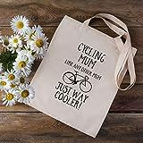 Borsa da ciclismo per mamma, borsa per la spesa, regalo per ciclismo, borsa da ciclismo, idea regalo per ciclisti