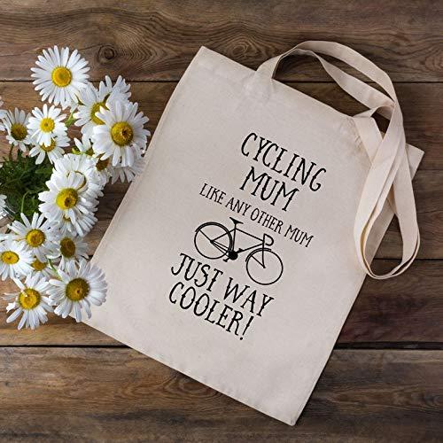 Fietstas voor mama - boodschappentas - fietstas - fietstas - cadeau voor fietsers - fietstas - koeler fietsmoeder