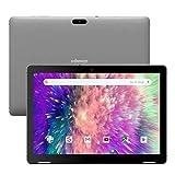 Tablette Tactile 10-Pouces Android 9.0 - Winnovo T10 3 Go RAM 32 Go Stockage Quad Core Processeur Écran HD IPS Audio Stéréo Gyroscope 3D Accéléromètre Wi-FI HDMI GPS Chassis en Metal (Gris)