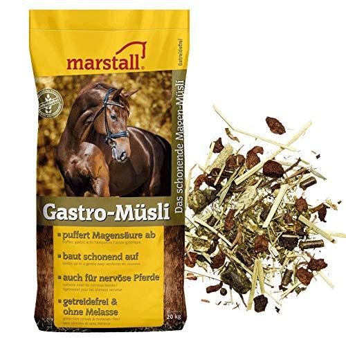 Marstall 20kg Gastro-Müsli - magenschonendes Pferdemüsli, getreidefrei und ohne Melasse