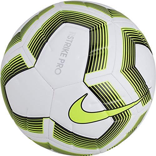 Nike Unisex– Erwachsene NK Strk PRO Team - Size 5 FIFA Fußballbälle, White/Black/Volt/Black, 5