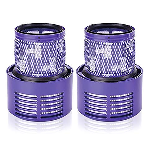 2PCS Filtros Lavables para Dyson,para V10 Cyclone Series, Total Clean,Dyson V10 Absolute, Animal, Motorhead,Aspiradora