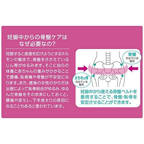 ピジョン妊娠中から使える骨盤ベルトM