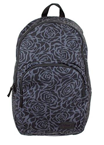 Vans Schooling Backpack (Black/Red/White-Rose)