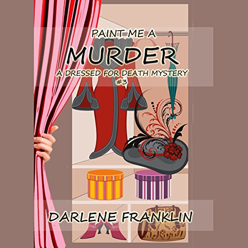 Paint Me a Murder audiobook cover art