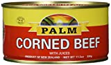 Palm Corned Beef - Premium Quality From New Zealand - 12 x 11.5 Oz (326 grams)