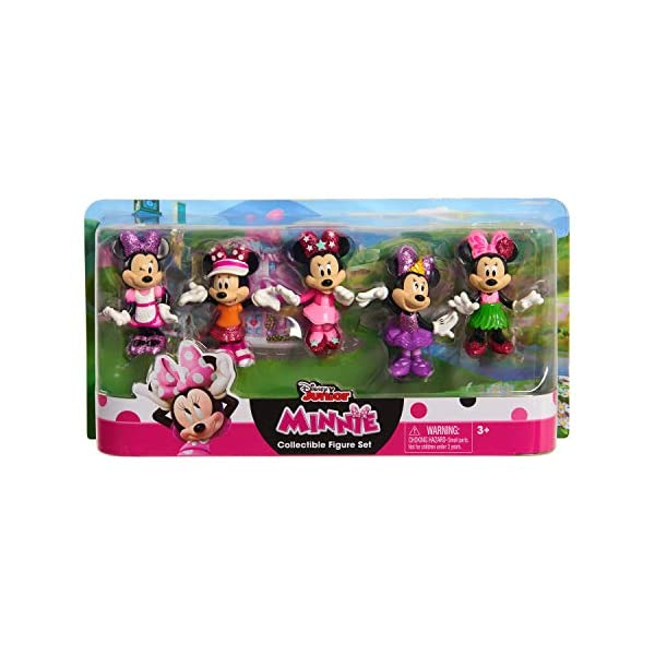 Just Play Disney Minnie Mouse Collectible Figure Pack Set 5