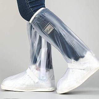 UKKD Bottes de Pluie Chaussures Étanches sur Chaussures Moto Équitation Bottes De Pluie Vélo Bottes De Pluie