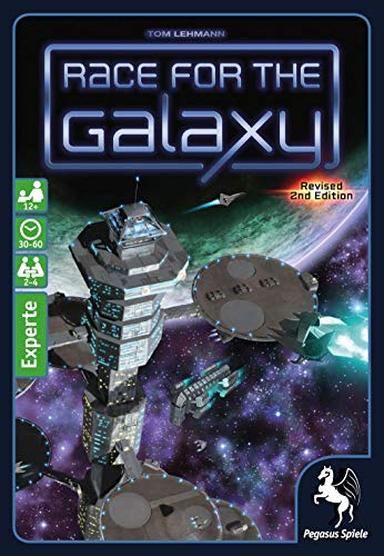 Pegasus Spiele 53021G - Race for the Galaxy, 2.Edition