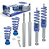 JOM Car Parts & Car Hifi GmbH 741099 Suspensión Cuerpo roscado Blueline, ED 40-60 / ET 30-55 mm, Amortiguador/Amortiguador