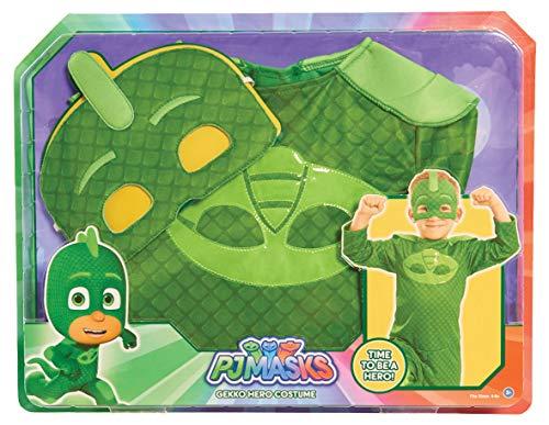 PJ Masks Disfraces, color verde, 4-6 años (Bandai 24603)