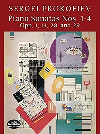 Piano Sonatas Nos. 1-4: Opp. 1, 14, 28, and 29 (Dover Music for Piano) by Sergei Prokofiev Classical Piano Sheet Music(2002-10-29)