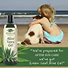 Pure Aloe Vera Gel from Fresh Cut Aloe Leaves for Natural Skin Care - 99.8% Cold Pressed Aloe - Thin Aloe Gel Formula for Skin, Face, Hair, Daily Moisturizer, Aftershave Lotion, Sunburn Relief, Burn Care - 8 ounce #4