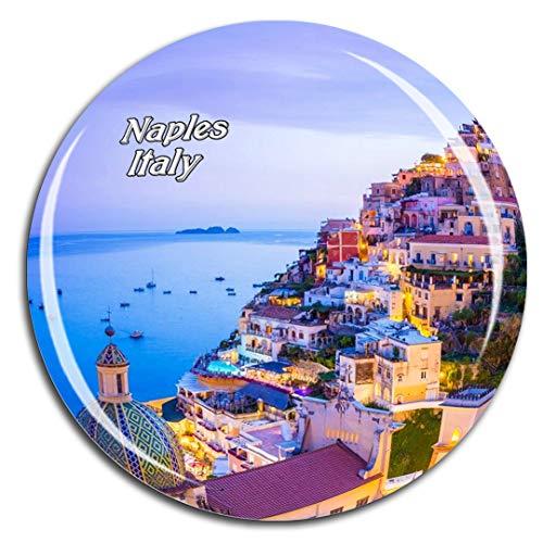 Weekino Italia Amalfi Napoli Calamità da frigo 3D Cristallo Bicchiere Tourist City Viaggio Souvenir Collezione Regalo Forte Frigorifero Sticker