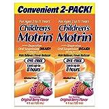 Children's Motrin Dye-Free Berry Flavor Suspension, 8 Ounces