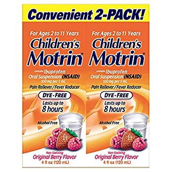 childrens motrin dye free
