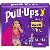 Pull-Ups Night-Time Girls' Training Pants, 2T-3T, 21 Ct