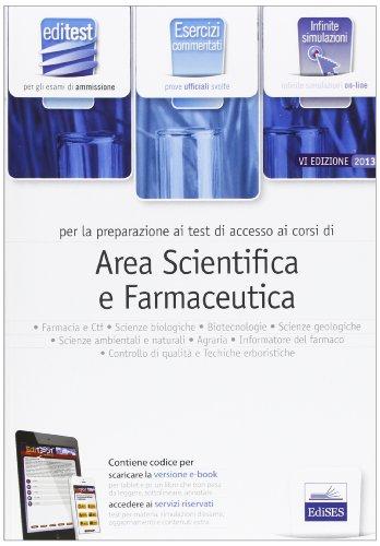 EdiTEST 3. Esercizi-Farmacia, area scientifica per la preparazione ai test di ammissione. Con software di simulazione
