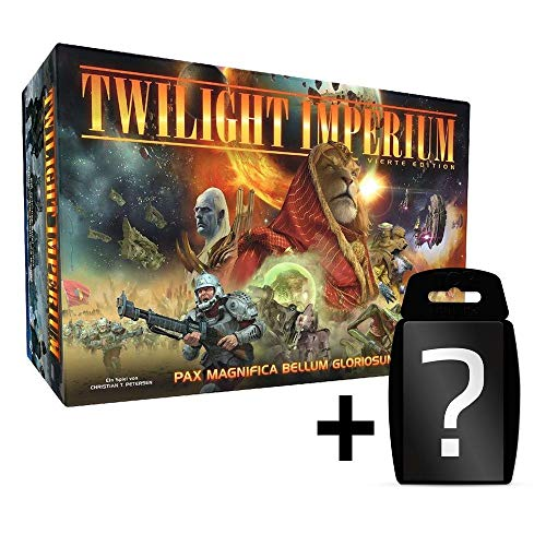 Twilight Imperium 4. Edition - Grundspiel - Brettspiel | DEUTSCH | Set inkl. Kartenspiel