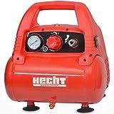 Hecht 2806 Compresseur à air Piston Portable sans huile 1100W 8bar 180L/min 9,15 kg