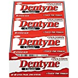 Dentyne Classic Cinnamon Chewing Gum - 18 Piece Packs (12 Count, 216 Pieces Total)
