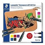 STAEDLTER - Juego de 31 bolsas de arte permanente Lumocolor