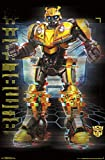 Trends International Hasbro Transformers: Bumblebee - Glitch Wall Poster, 22.375' x 34', Premium Unframed Version