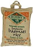 Bombay Basmati Brown Rice, 10-pounds Sack