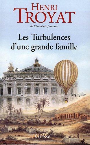 Les turbulences d'une grande famille