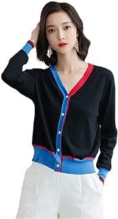 Howely Women Open Casual Wraps Shawl Knit Shirt Sunscreen Button V Neck Cardi