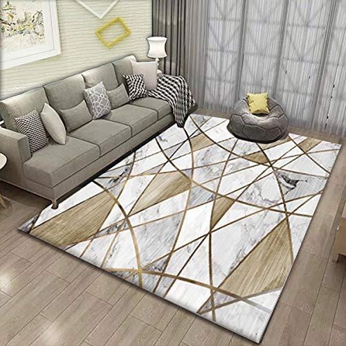 MEIDEL Calidad Alfombra Lana 170x240cm Suave y Sedosa Alfombra Salón Moderna Decor con Adecuado salón Dormitorio baño Silla cojín, SV-JQ46