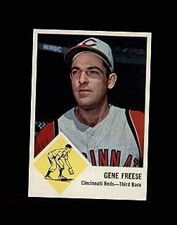 1963 Fleer Baseball #033 Gene Freese STARX 6 EX/MT CS53135