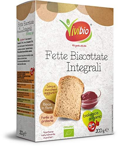 Vivibio Fette Biscottate Integrali - 200 g