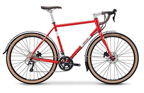 breezer Doppler Pro Cyclocross Bike 2019 (58cm, Red & Cool Gray)