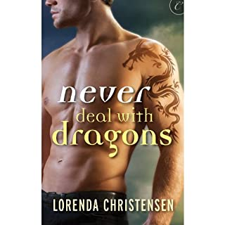 Never Deal with Dragons audiobook cover art