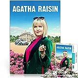 YLAXX Agatha Raisin Rompecabezas de 1000 Piezas Juegos Familiares Rompecabezas de película de 1000 Piezas Gran opción para Regalos 38x26cm