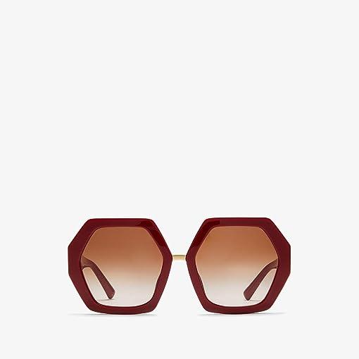 Red/Gradient Brown