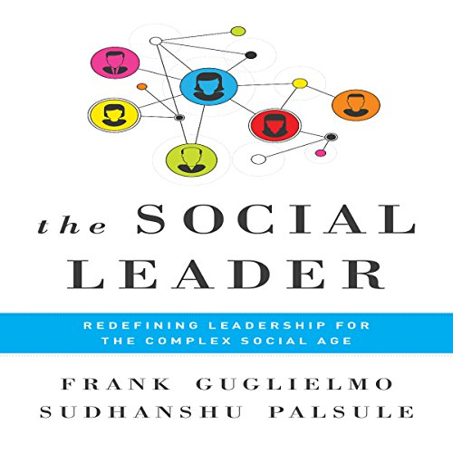 The Social Leader audiobook cover art